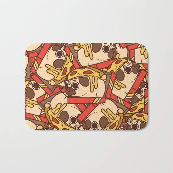 Puglie Pizza Bath Mat