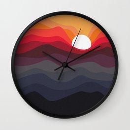 Outono Wall Clock