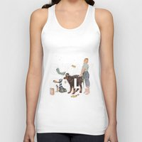stay gold Tank Tops featuring Stay Gold by Heather Landis