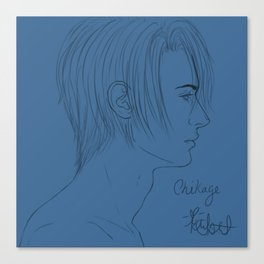 Chikage Profile Canvas Print