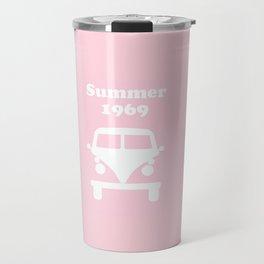 Summer 1969 -  pink Travel Mug