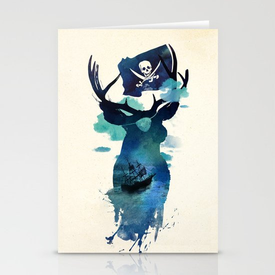 Captain Hook Stationery Cards