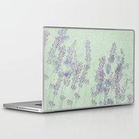 lavender Laptop & iPad Skins featuring Lavender by Dana Martin