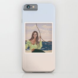 cinnamon girl iPhone Case