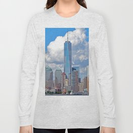 Riding the Staten Island Ferry Long Sleeve T-shirt