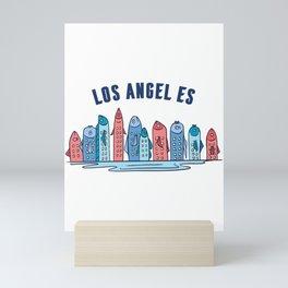 Los Angeles Fishing Mini Art Print