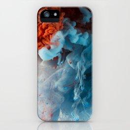 Collision II iPhone Case