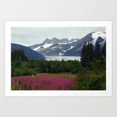 Juneau, Alaska Art Print