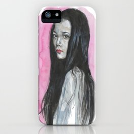 Innocent Chinese Girl iPhone Case