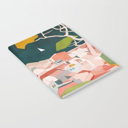 south france coast landscape Notebook
