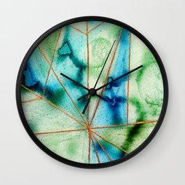 """""""Geo Ocean"""" Wall Clock"""