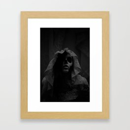 In the Night Framed Art Print