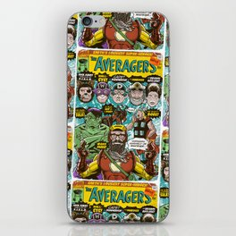 the Averagers iPhone Skin