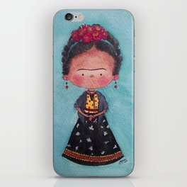Frida - Watercolor iPhone Skin