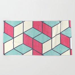 Puzzle Beach Towel