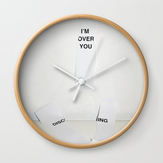 Over Wall Clock