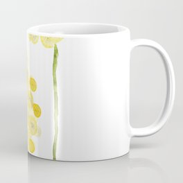 two abstract dandelions watercolor Coffee Mug