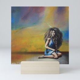 AZZURRA Mini Art Print