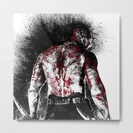 Drax the Destroyer Metal Print