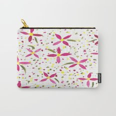 Petals and Joy Carry-All Pouch