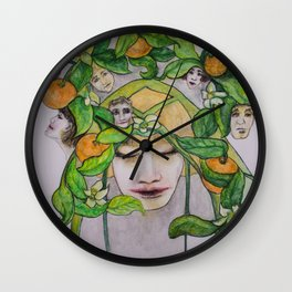 In the Citrus Family Wall Clock