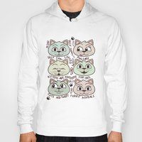 kittens Hoodies featuring Kittens by Artificial primate