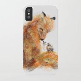 Fox & Hedgie iPhone Case