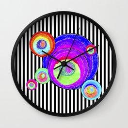 My inner secret geometry   by Elisavet #society6 Wall Clock