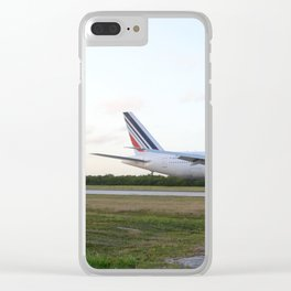 Boeing 777 Clear iPhone Case
