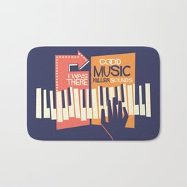 For the Love of Music Bath Mat