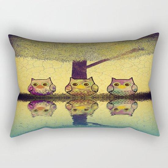 owl-201 Rectangular Pillow