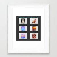 samsung Framed Art Prints featuring  New Samsung Galaxy S4 by  Alexia Miles photography