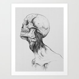 Everything with Skulls - 05 Art Print
