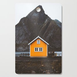Yellow Cabin Cutting Board