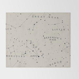 Constellation I Throw Blanket