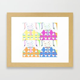 Claws Framed Art Print