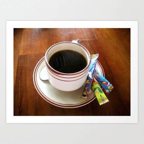 Perfect Cup of Joe Art Print