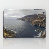 league iPad Cases featuring Slieve League by cmphotography