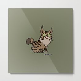 Cat - Maine coon Metal Print