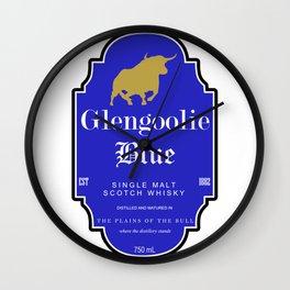 Glengoolie Blue Wall Clock