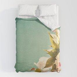 FlowerMent Duvet Cover