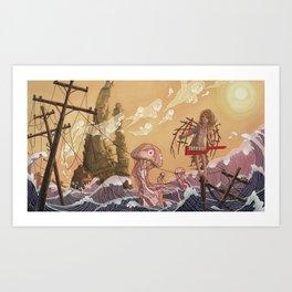 Reclaimed Lands Art Print