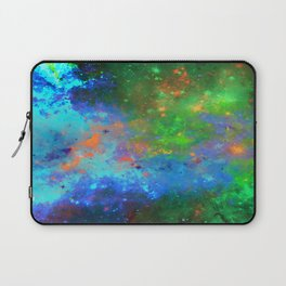 Speed Of Light - Abstract space painting Laptop Sleeve