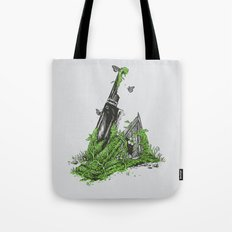 Silent Decay Tote Bag