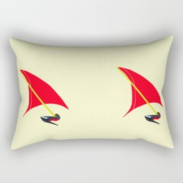 Dreaming of Flying in May Rectangular Pillow