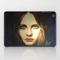devil iPad Cases featuring Devil by Pamela Schaefer