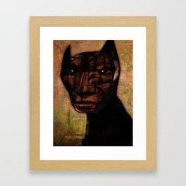 Lucifer Sam Framed Art Print