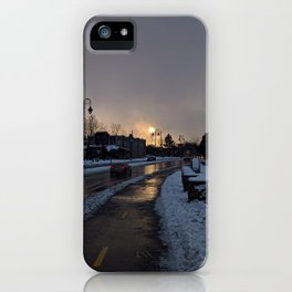 Hope In The Cold Darkness iPhone Case
