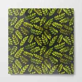 Leaves Pattern 5 Metal Print