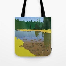 Junction Lake Tote Bag